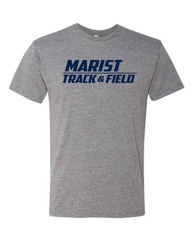 Next Level Short Sleeve Triblend Tee - Unisex - Marist Track and Field