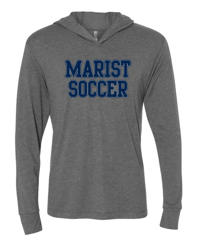 Next Level Triblend Long-Sleeve Hoodie - Unisex - Marist Soccer