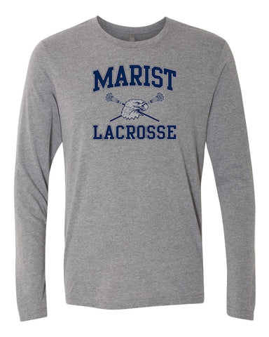 Lacrosse Next Level Triblend Long Sleeve