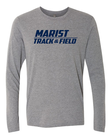 Track and Field Next Level Triblend Long Sleeve