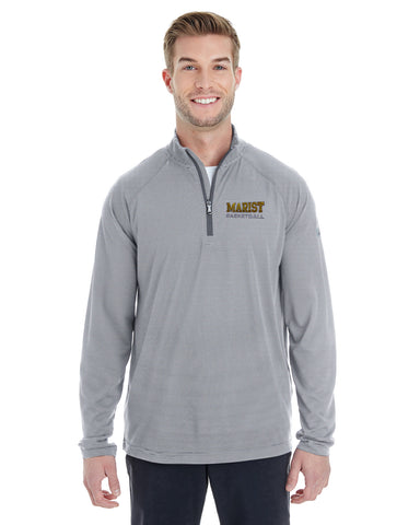 Men's Microstripe 1/4 Zip - Marist Basketball