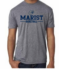 Next Level Short Sleeve Triblend Tee - Unisex - Marist Basketball