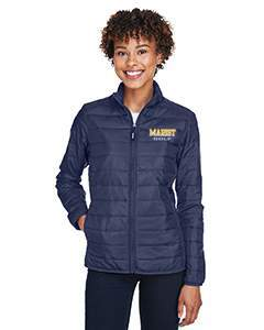Core 365 Women's Prevail Packable Puffer Jacket - Please note NOT uniform approved
