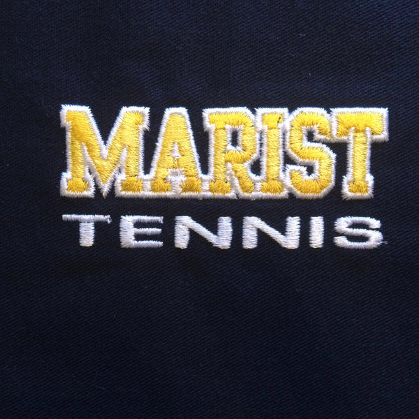 Men's Heather Microfleece Full-Zip Jacket - Marist Sports - NEW for 2019 - NOT uniform approved