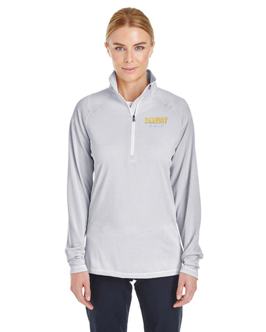 Ladies' UA Tech Stripe 1/4 Zip - Spring Sports