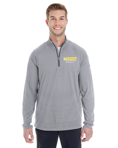 Men's Microstripe 1/4 Zip - Spring Sports