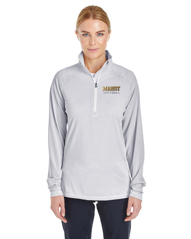 Ladies' UA Tech Stripe 1/4 Zip - Fall Sports