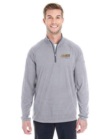 Men's Microstripe 1/4 Zip - Fall Sports