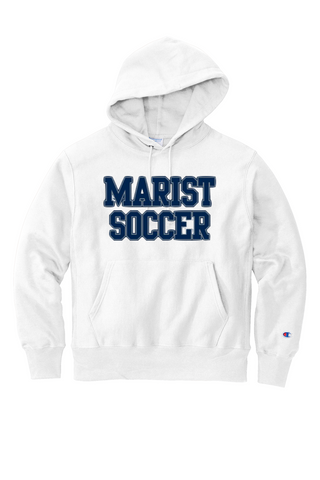 Soccer - Champion Adult 9 oz. Double Dry Eco Pullover Hood 50/50 - White