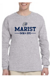 Ultra Cotton 6 oz. Long Sleeve Tee - Marist Swimming and Diving