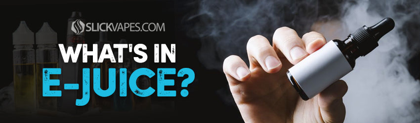 What's In E-Juice?