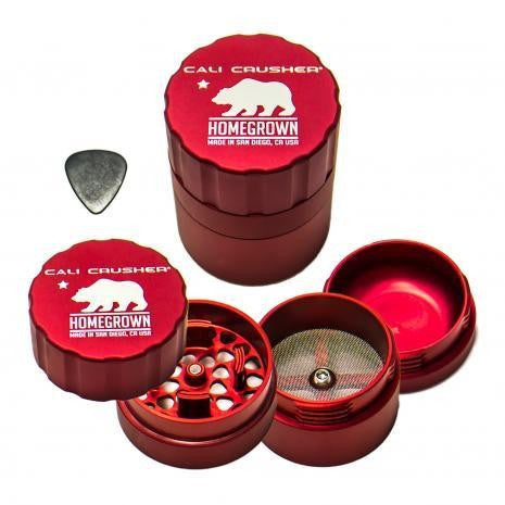 Cali Crusher Homegrown Grinder 2.5in 4 Piece  - 1