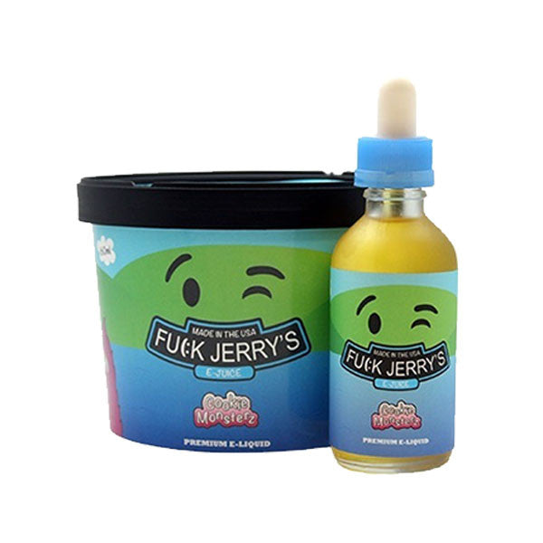 Cookie Monsterz by Fuck Jerry's E-Liquids (60mL) by Fuck Jerry's