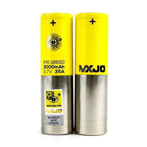 MXJO IMR 18650F 3000MAH 35A Battery by MXJO