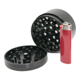 "Space Case Grinder 2 Piece Magnetic (Large 3.5"") - Titanium by Space Case"