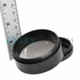 "Space Case Grinders / Sifter 4 Piece (Medium 2.5"") - Titanium by Space Case"