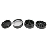"Space Case Grinders / Sifter 4 Piece (Small 2"") - Titanium by Space Case"