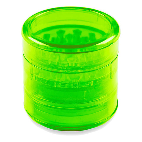 Acrylic Grinder Transparent 5 Piece Green - 4