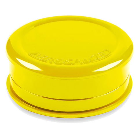 Acrylic Grinder Solid 3 Piece Yellow - 8