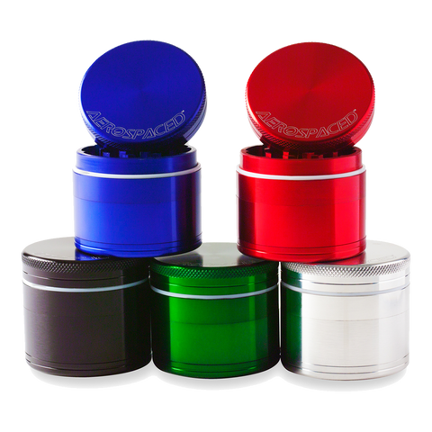 Aerospaced Grinder/Sifter with Removable Screen 4 Piece