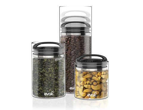 Evak Glass Storage Containers  - 1