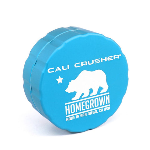 Cali Crusher Homegrown 2.35in 2 Piece Grinder Aquamarine - 3