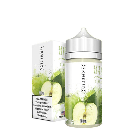 Green Apple by Skwezed Eliquid (100ML) by Skwezed