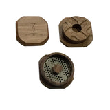 Magic Flight Luanch Box Finishing Grinder Walnut - 8