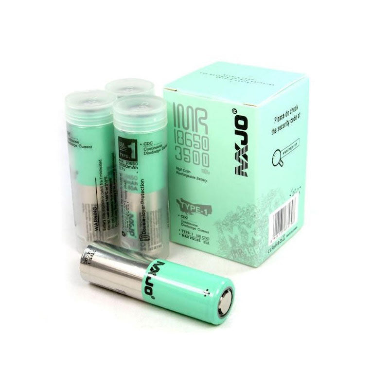 MXJO 3500mAh 20A 18650 Battery Cell by MXJO
