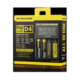 Nitecore D4 Charger with LCD Panel