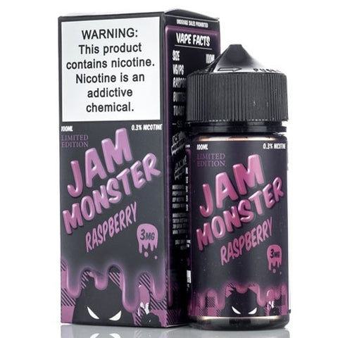 Raspberry by Jam Monster (100ml)