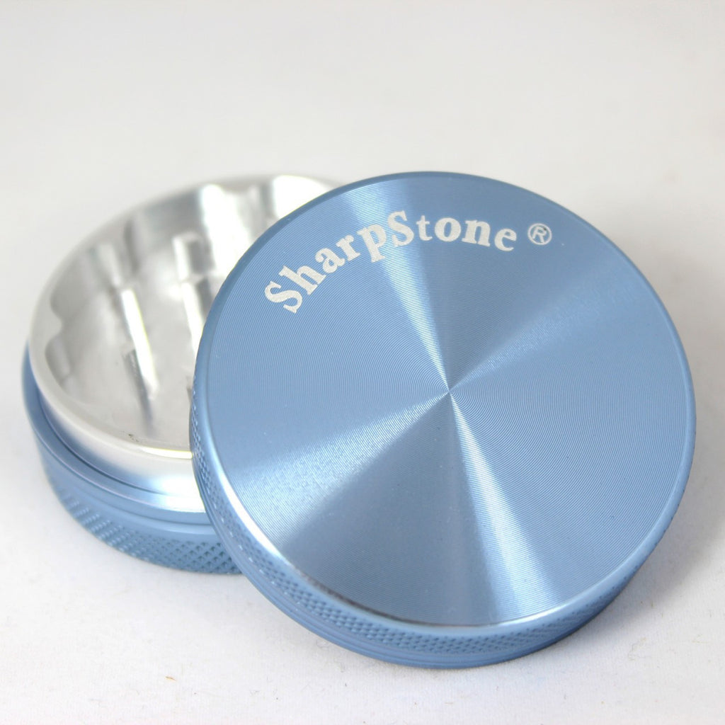 Sharpstone Hard Top Grinder 2 Piece Blue - 5