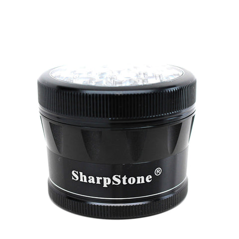 Sharpstone V2 Clear Top Grinder 4 Piece  - 3