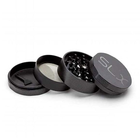 "SLX Grinder Version 2.0 Ceramic Non-Stick (4 Piece - 2"" Pocket) - Black"