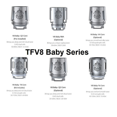 Smok TFV8 Baby Beast Replacement Coils (Pack of 5)