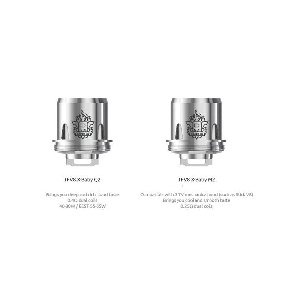 Smok Tfv8 X Baby Beast Brother Replacement Coils Pack Of 3 For