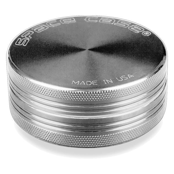 Space Case Grinders 2 Piece Silver / 2.0inch (50mm) - 2