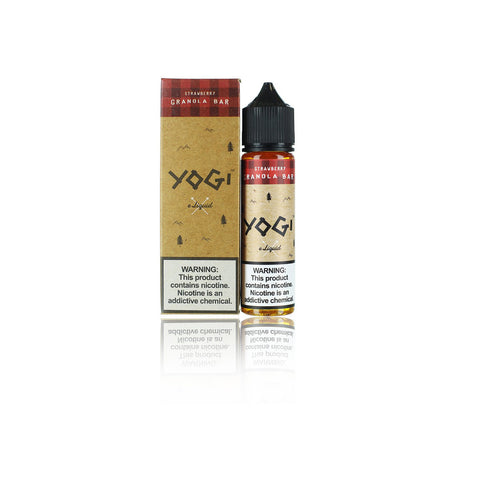 Strawberry Granola by Yogi E-Liquid (60ml)