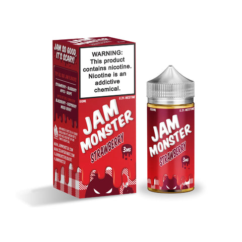 Strawberry by Jam Monster (100ml)