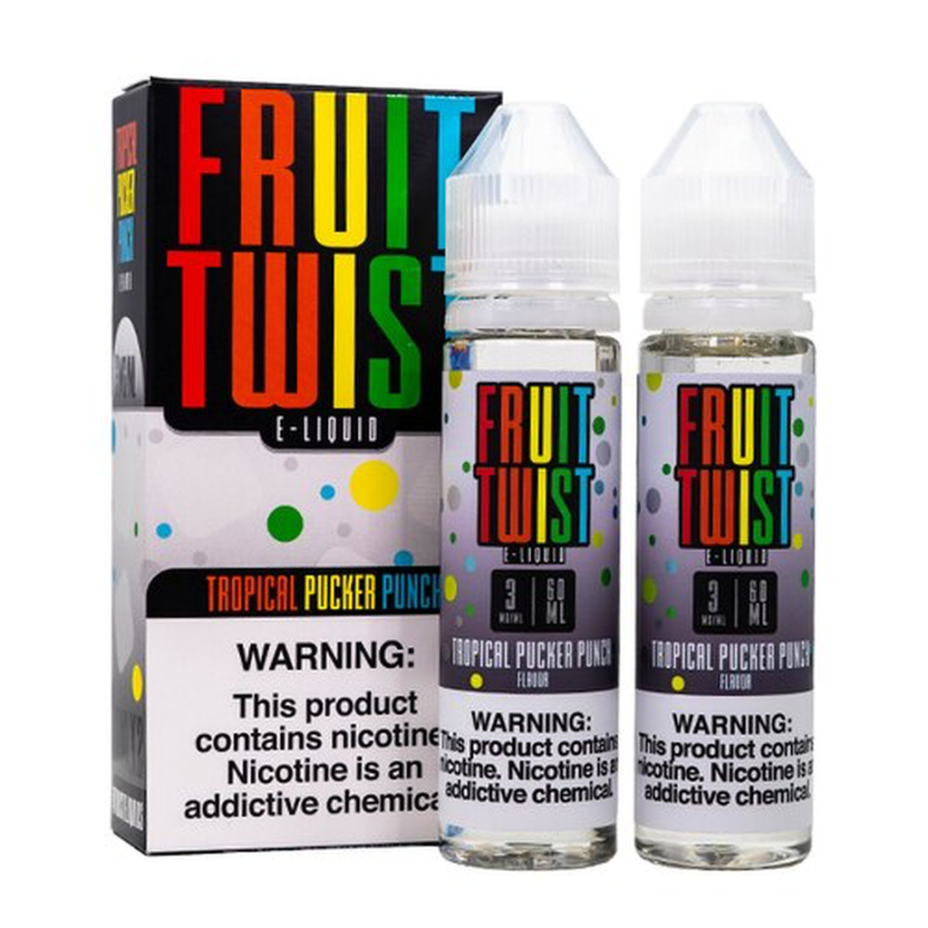 Tropical Pucker Punch by Fruit Twist (120ml)