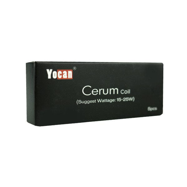 Yocan Cerum Dual Quartz Coils (Pack of 5)