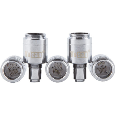 Yocan Evolve Replacement Dual Quartz Coils (5 Pack)