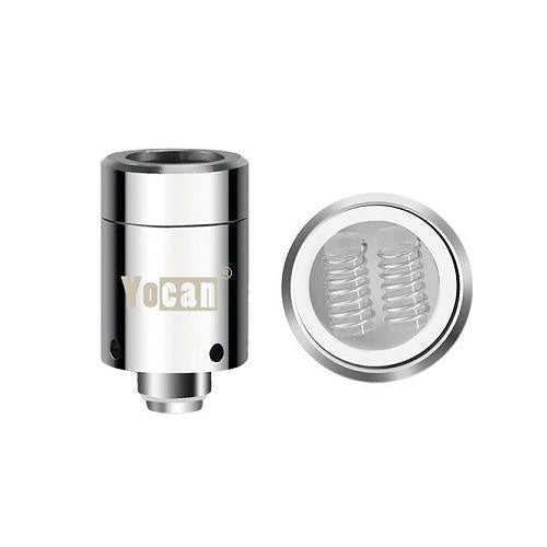 Yocan Loaded Magnetic Dual Quartz Coil (Pack of 5)