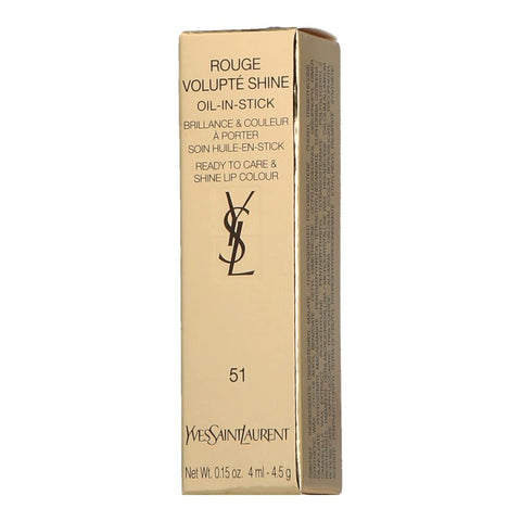 Yves Saint Laurent Rouge Volupté Shine 51 Rose Saharienne