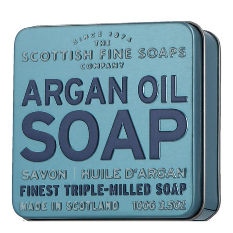 Scottish Fine Soaps Soap in a Tin Argan Oil