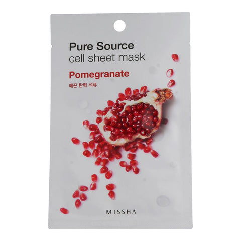 Missha Pure Source Cell Sheet Mask Pomegranate