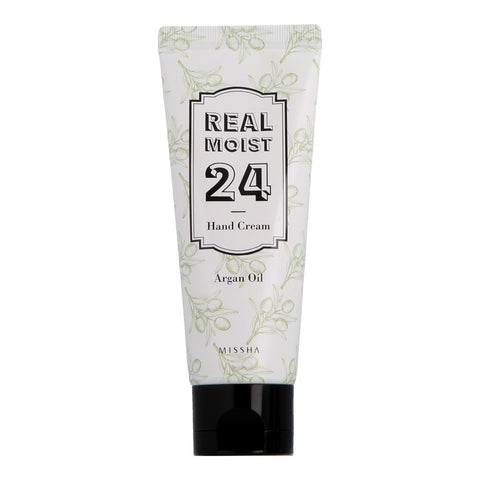 Missha Real Moist 24 Hand Cream Argan Oil