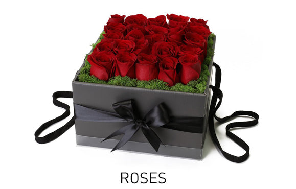 Roses for flower delivery by West Van Florist