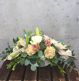 Blush and Burlap Design Arrangement