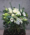 The Elegant White Handtied Bouquet